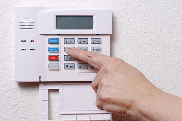 Alarm System After Window and Door Installation