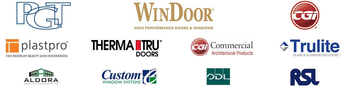 Window and Door Brands Offered by Newman Windows and Doors