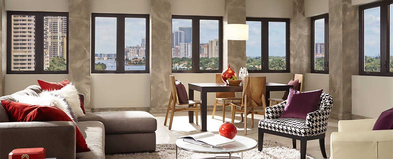 Impact Resistant Windows in a Modern Condominium