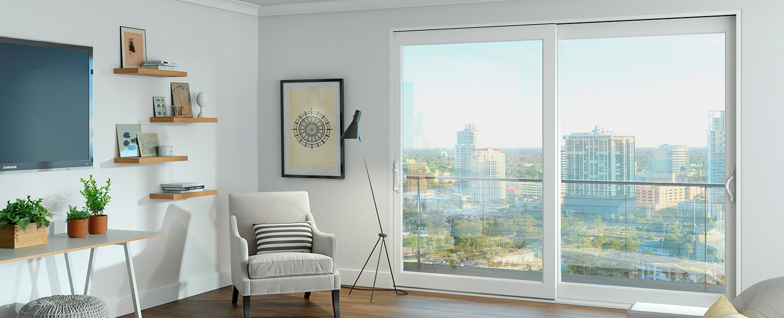 Impact Resistant Windows in a High Rise Condominium