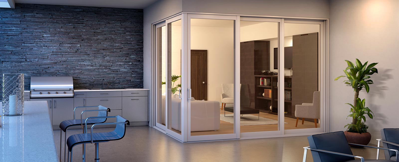 Impact Resistant Sliding Glass Doors