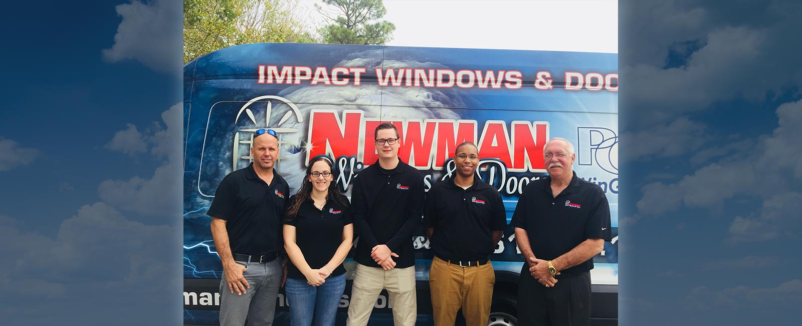 Sales Team at Newman Windows and Doors